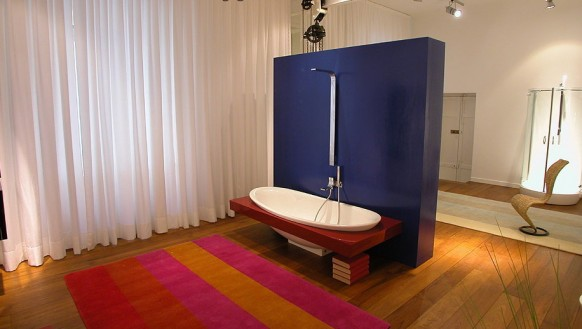 designer-Dusche-Badewanne
