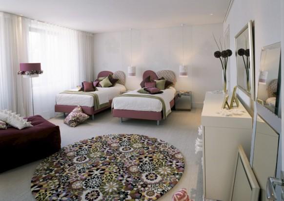Doppel-Schlafzimmer design