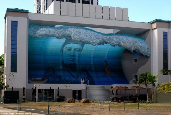 3d-Gebäude-Malerei