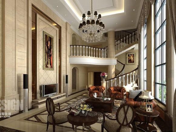 asiatische Wohnzimmer