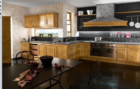schwarz weiß Küche