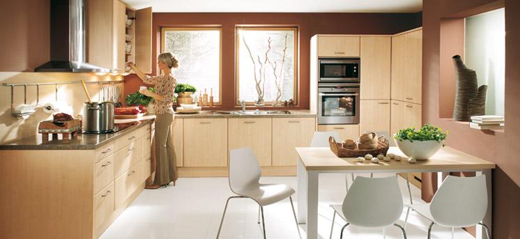 Brown In Kitchen Cabinets