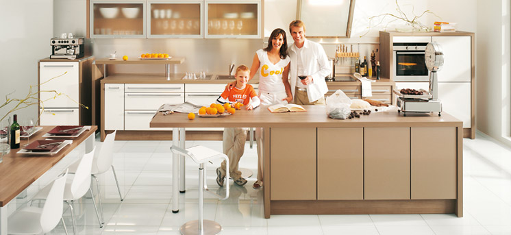 Brown Kitchen Cabinets