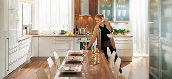 brown-Küche-Arbeitsplatte