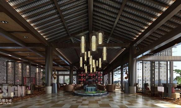 chinesische lounge-design