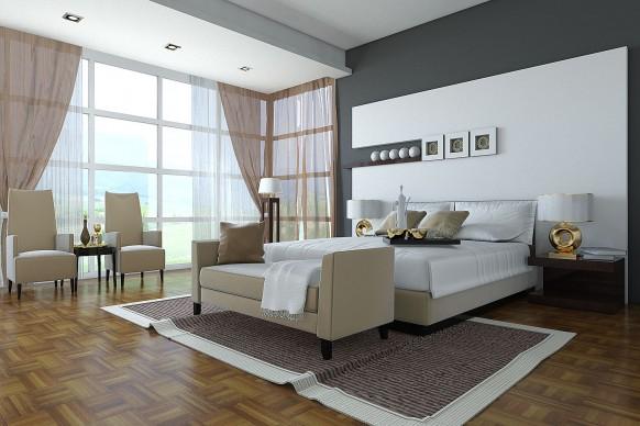 klassischen Schlafzimmer design