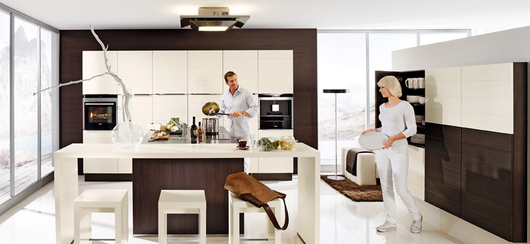 White Brown Kitchen Designs