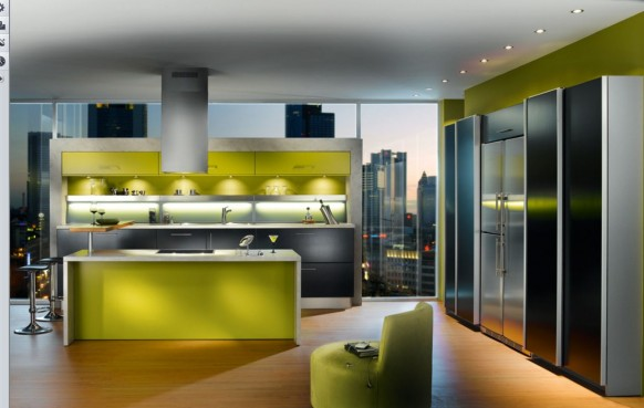 green apartment-Küche