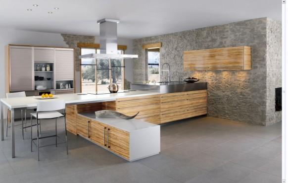 Küche Wand fertig