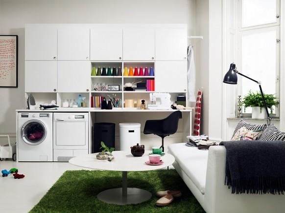 Wäsche-Raum-design