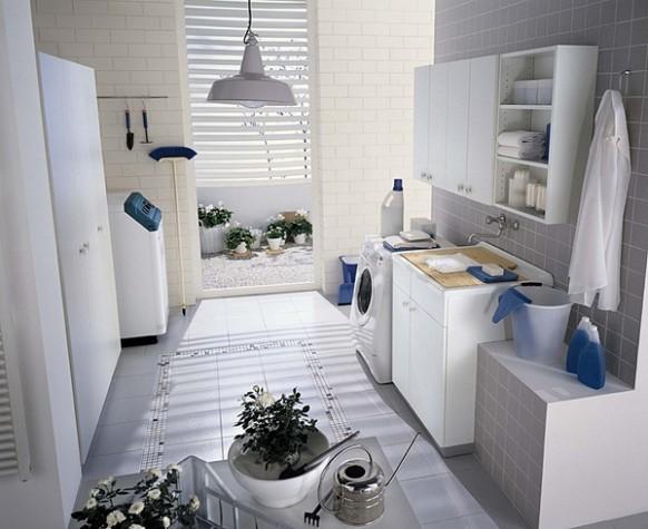 beleuchtete Traum Waschküche