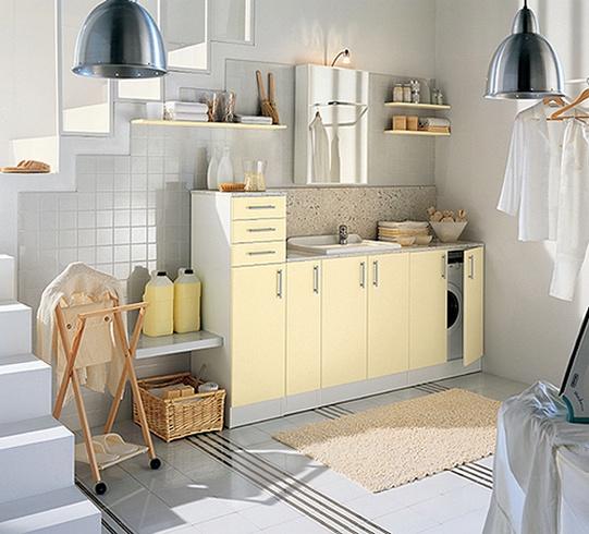 organisierte Wäsche-Raum