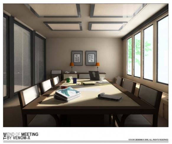oriental meeting room
