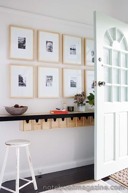weiße foyer