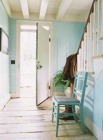 abgenutzt foyer