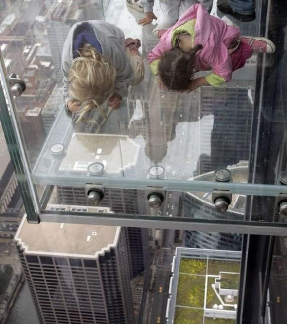 erstaunlich, sears tower, Balkon