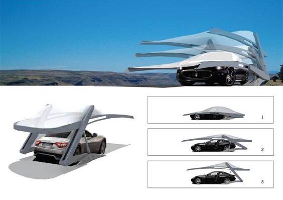 PKW-garage Dach