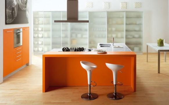 copat orange italienische Küche