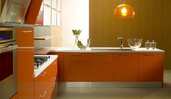 di Iorio orange cucine Küche