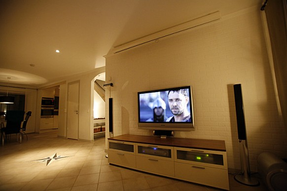 Salon tv setup