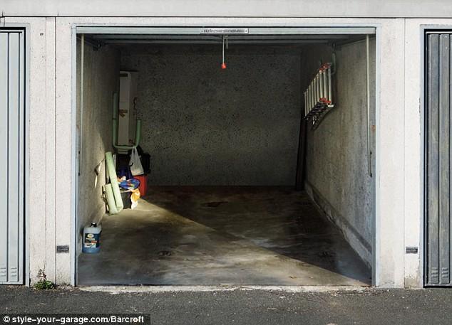 Garage shutter art