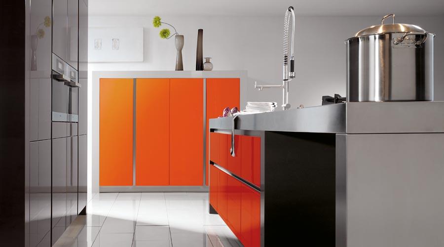 Grifflos Orange Kitchen
