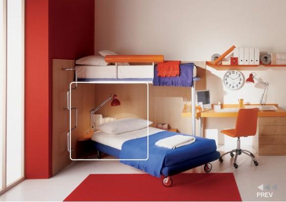 Kinder Zimmer Ecke