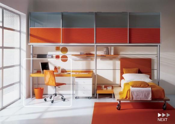 Kinder-Zimmer Regale