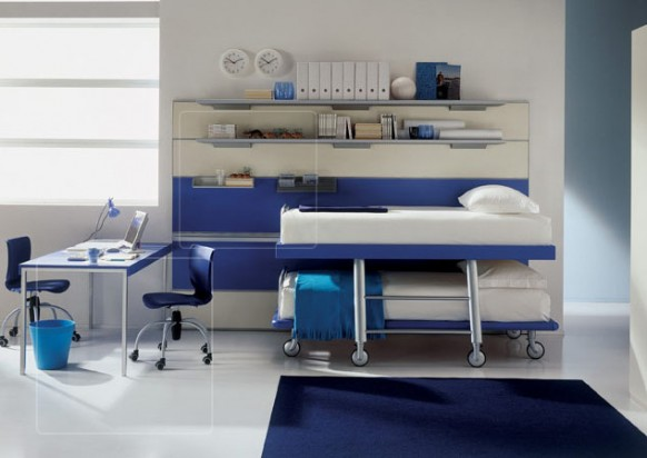 Kinder-Zimmer-twin-Betten
