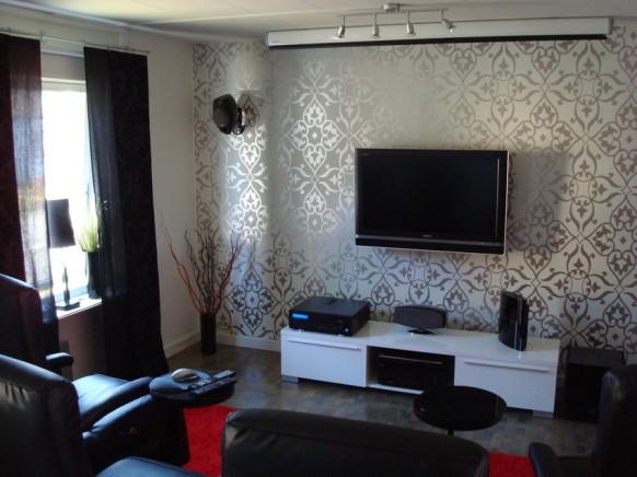 Wohnzimmer tv setup