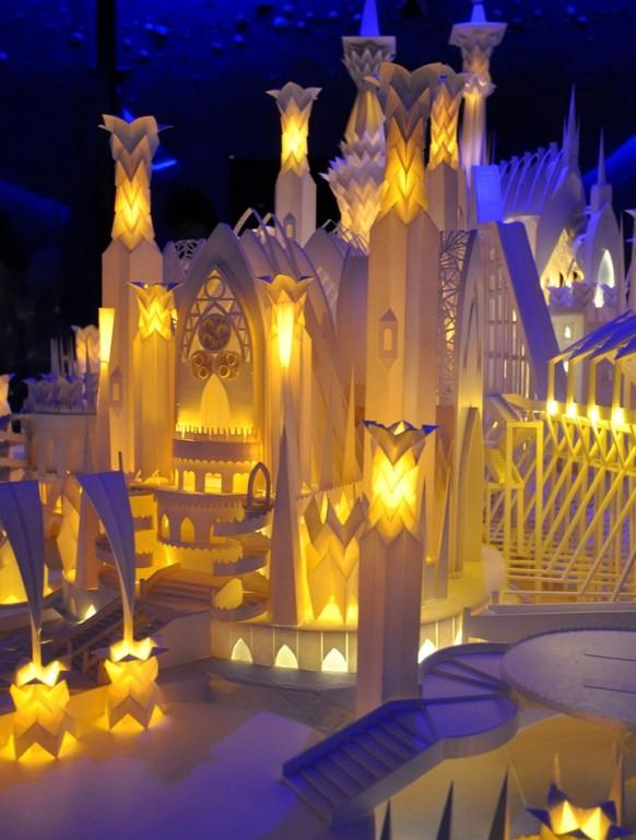 paper craft Schloss