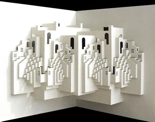 papercraft building