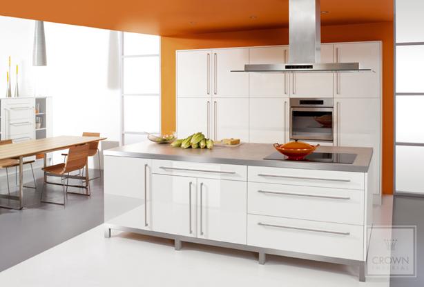 Rialto Orange Kitchen