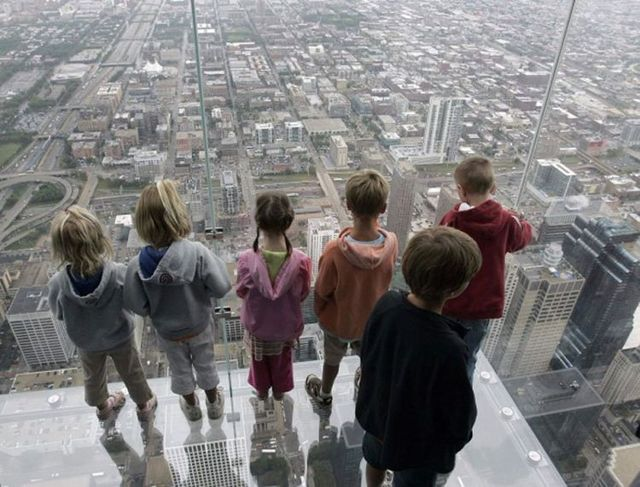 Sears tower balconies
