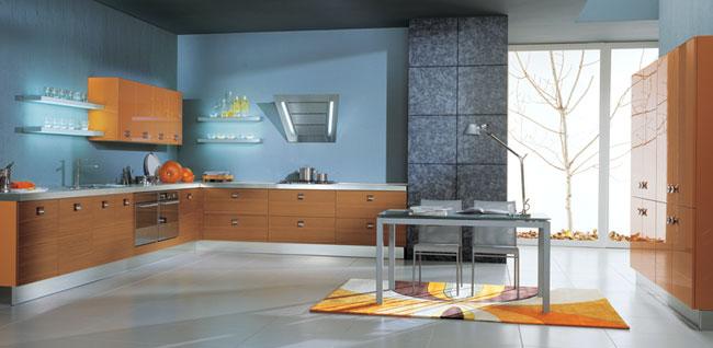 Vitali Cucine Blue Kitchen Color