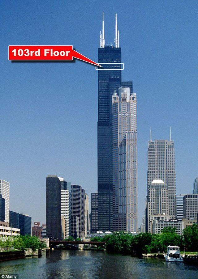 Amazing Balconies Of Willis Tower Chicago