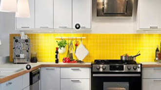 yellow and white kitchen ideas yellow kitchens 26268