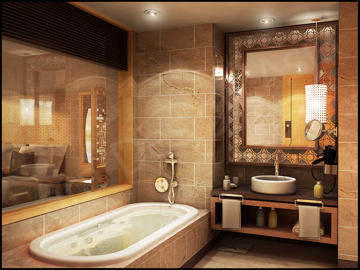 Luxury Bathroom Layouts