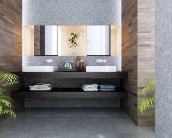 Badezimmer Interieur