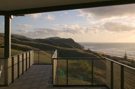 beach house Balkon
