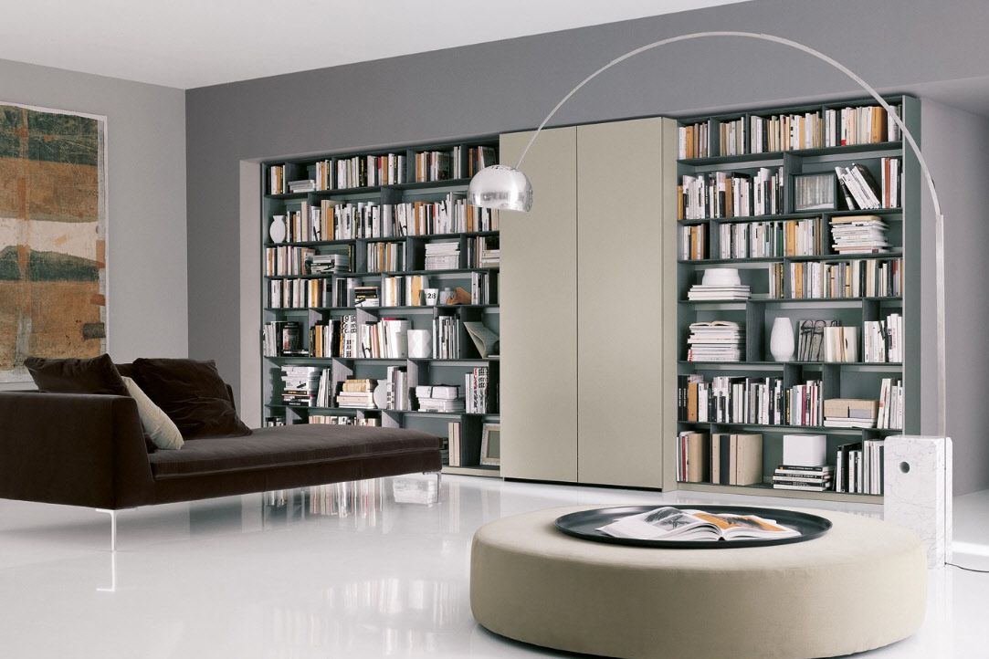 Home Library By B Italia