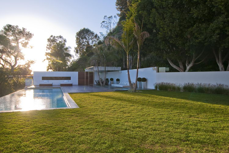Nightingale house · west hollywood · home swimmin pool