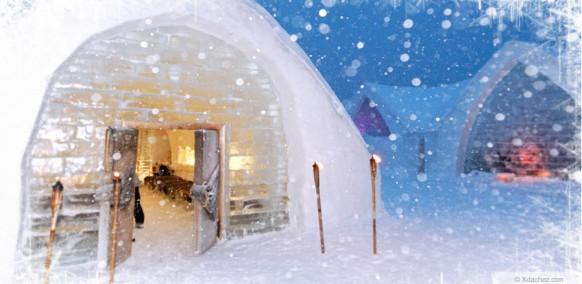 ice hotel hotel de glace canada. Black Bedroom Furniture Sets. Home Design Ideas
