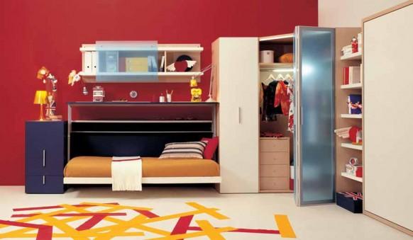 teen-Schlafzimmer-Anordnung