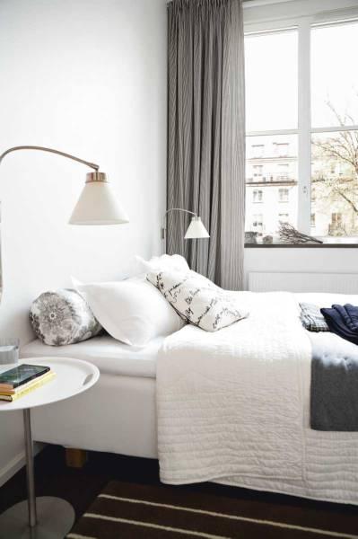 weiß Bett-Zimmer