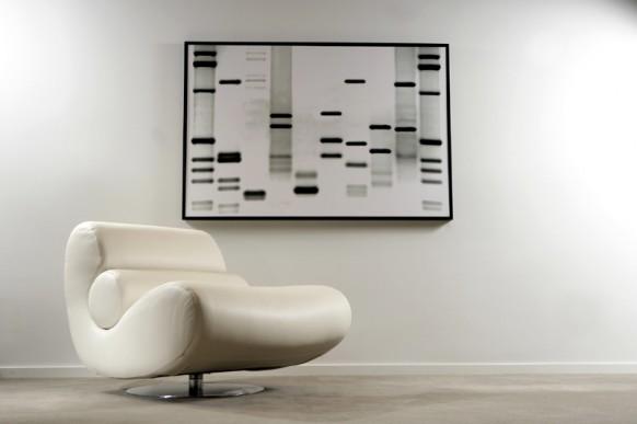 DNA-Kunst-Plakat
