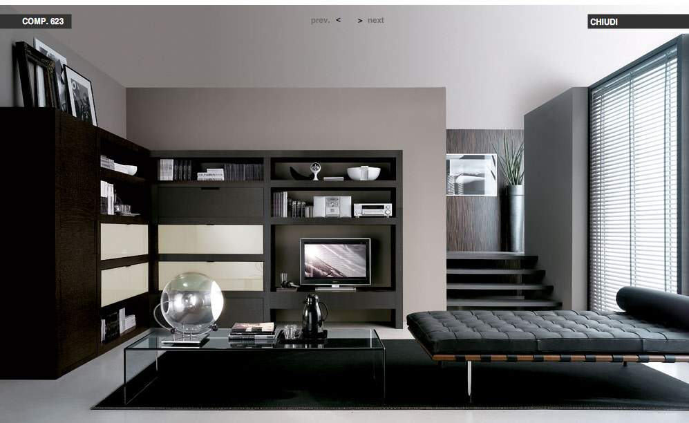 Our Choice of Best Black Modern Living Room Photos ...