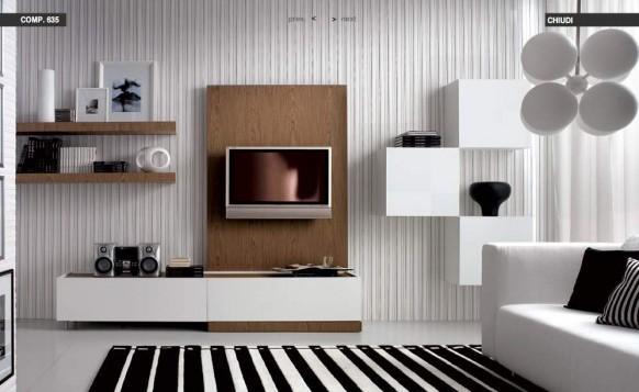 schwarz-weiss-ausgezogen-Wohnzimmer