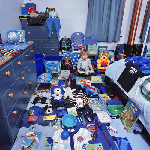 blau little boy room