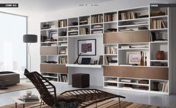 Braun-lounge-Raum